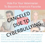 """Did AVMF bag """"America's Favorite Vet"""" contest to keep anti-declaw vet from winning?"""